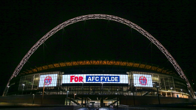 Coasters up in lights at Wembley! & Coasters up in lights at Wembley! | AFC Fylde