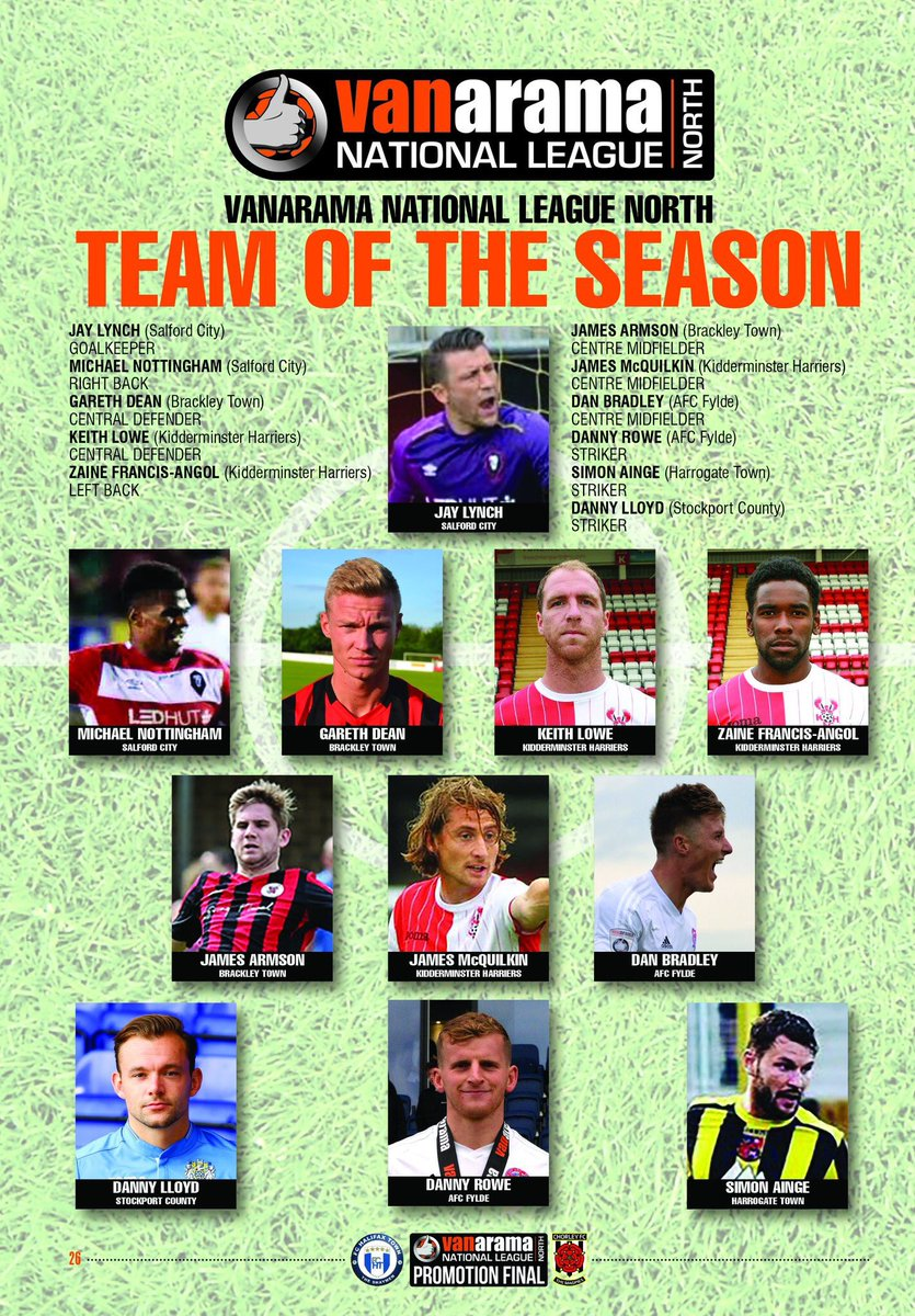 NLN team of the season