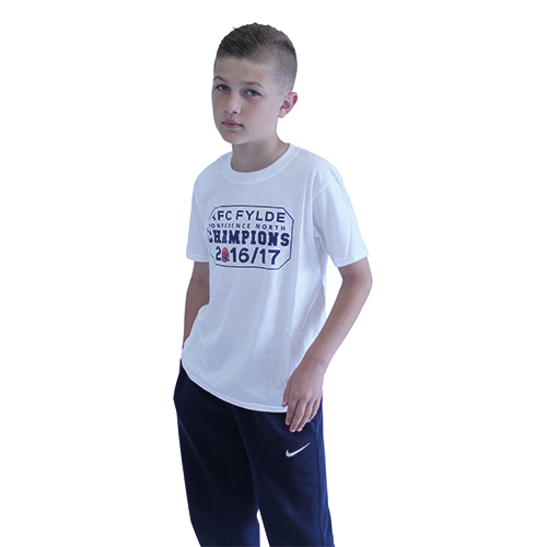 fc1bb8203 Champion T-Shirt (Junior) - AFC Fylde