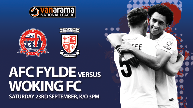 AFC Fylde surrendered a half-time lead as they went down 2-1 against in-form Woking FC at Mill Farm.        The hosts looked in complete control following Jordan TunnicliffeÂ's opener, however two-goals in under a minute shortly after the break ensured the visitors took all three points back to...
