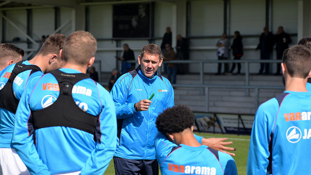 AFC Fylde manager Dave Challinor admits winning is the only option as his promotion-chasing side head into the final ten games of the season.        The Coasters dropped out of the National League play-off places after Dover Athletic, the only side that managed to host a game over a weekend of...
