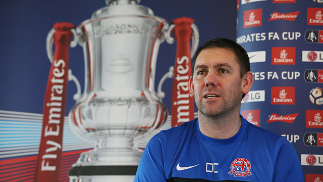 AFC Fylde boss Dave Challinor is relishing the prospect of pitting his wits against a Premier League club after drawing AFC Bournemouth in the FA Cup third round.        Fylde earned their place in the hat with a 1-1 draw against League One table-toppers Wigan Athletic at the weekend and face a...